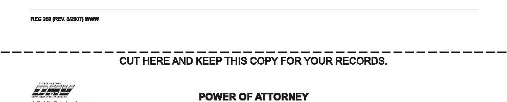Free California Power Of Attorney Forms Adobe Pdf Word