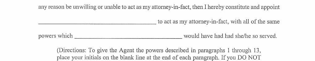 Georgia Financial Power of Attorney